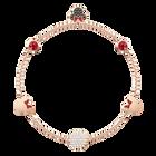 Swarovski Remix Collection Minnie Strand, Small, Multi-colored, Rose gold plating