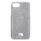 High Smartphone Case with Bumper, iPhone® 8 Plus, Gray