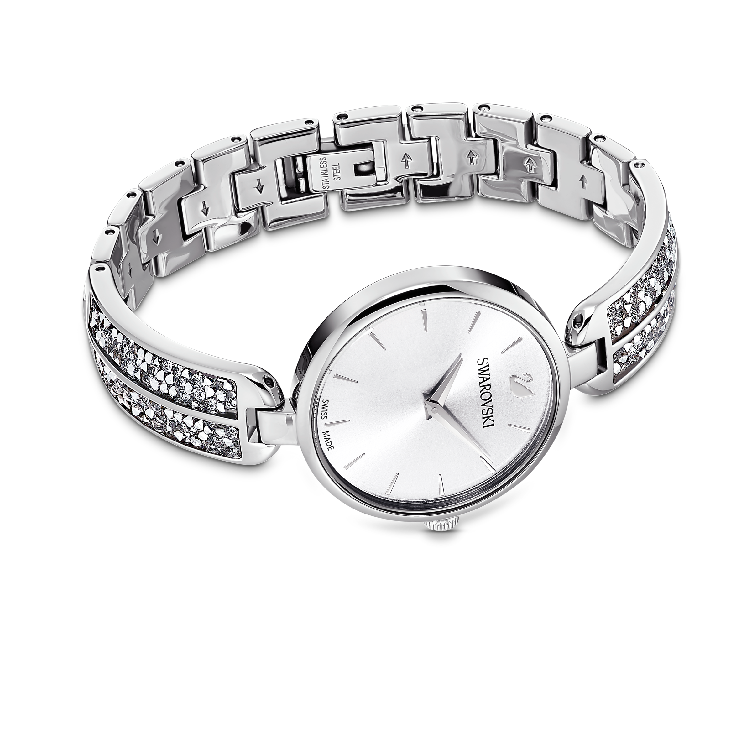 Dream Rock Watch, Metal Bracelet, Silver tone, Stainless steel