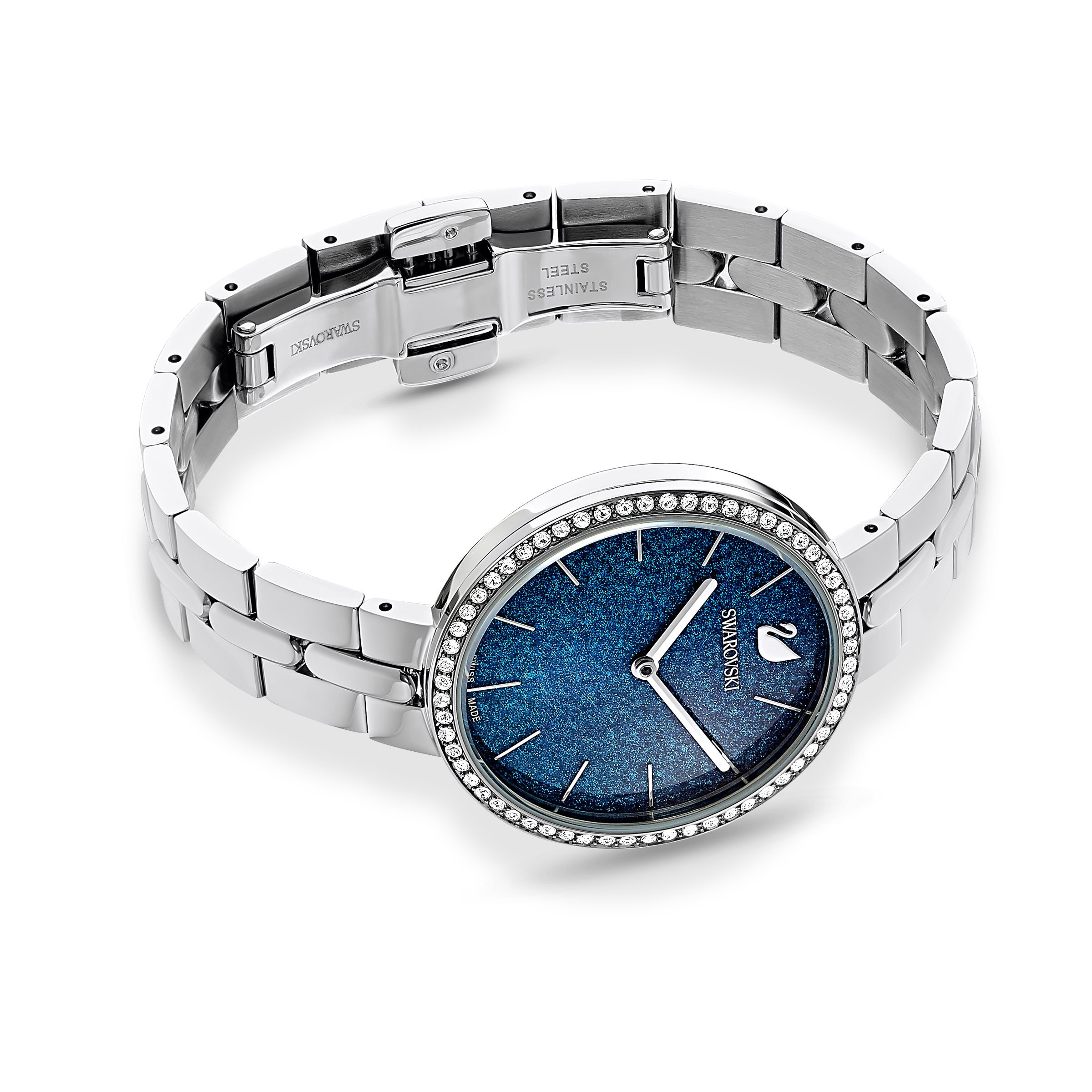 Cosmopolitan Watch, Metal bracelet, Blue, Stainless steel