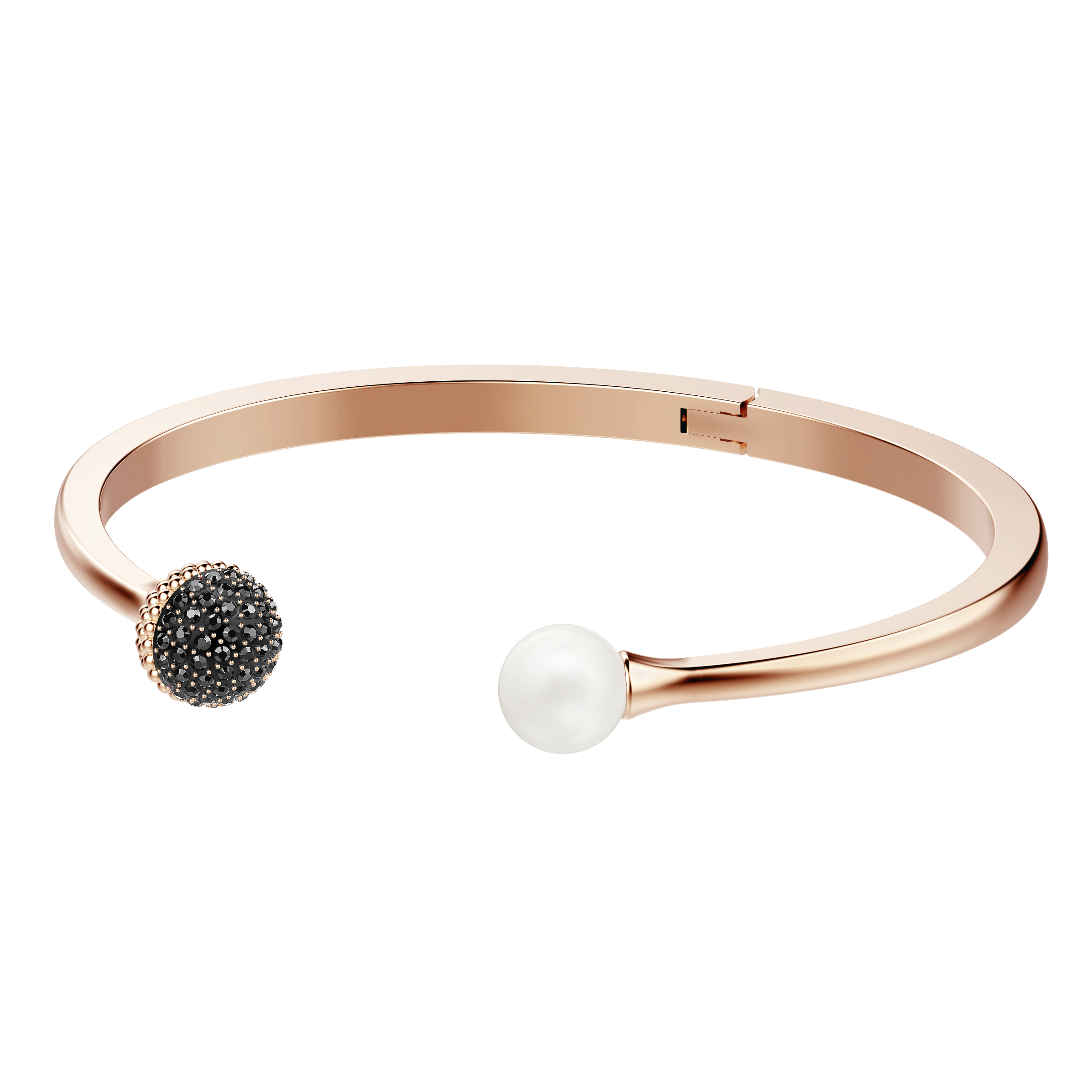Lollypop Bangle, Multi-colored, Rose-gold tone plated