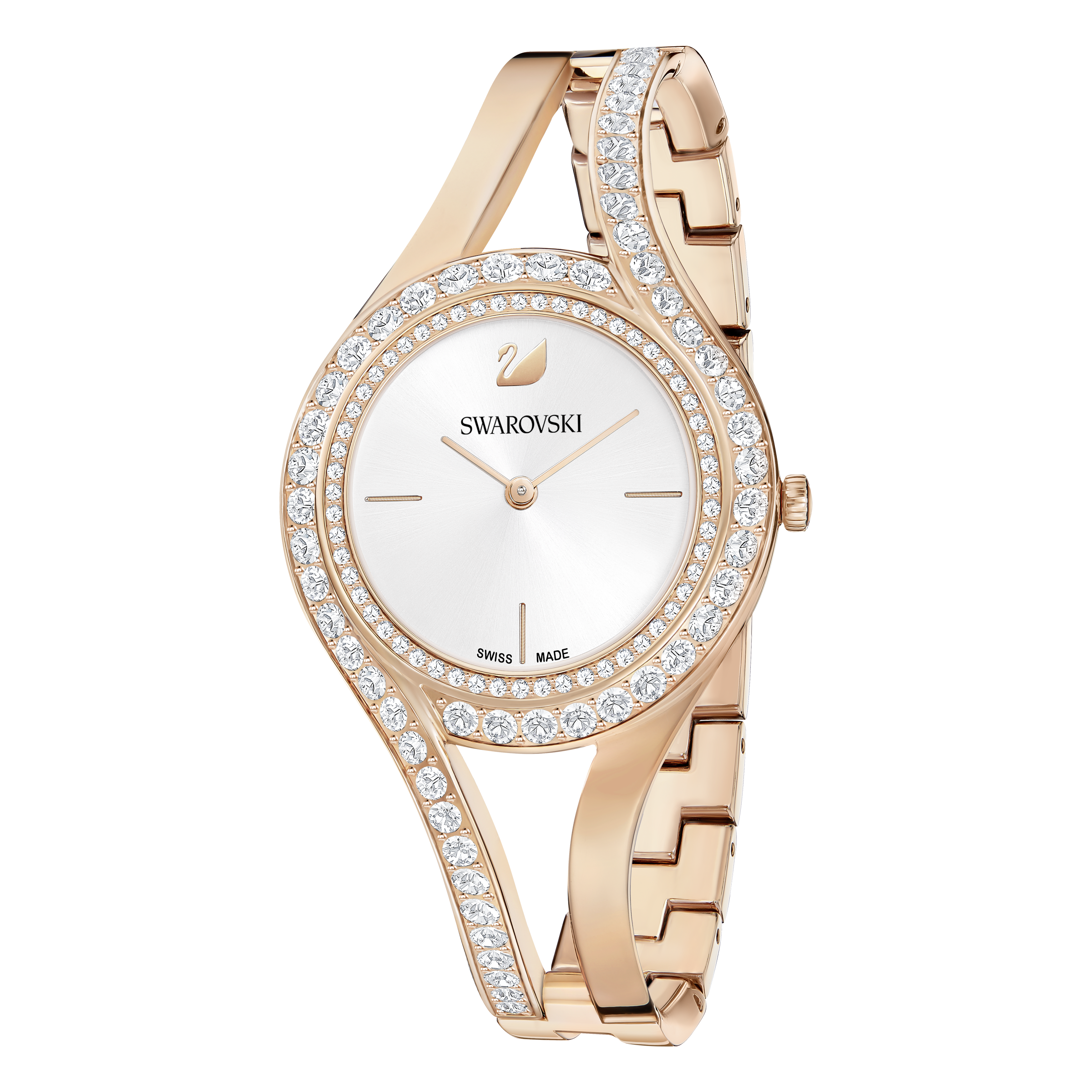 Eternal Watch, Metal Bracelet, White, Rose Gold Tone