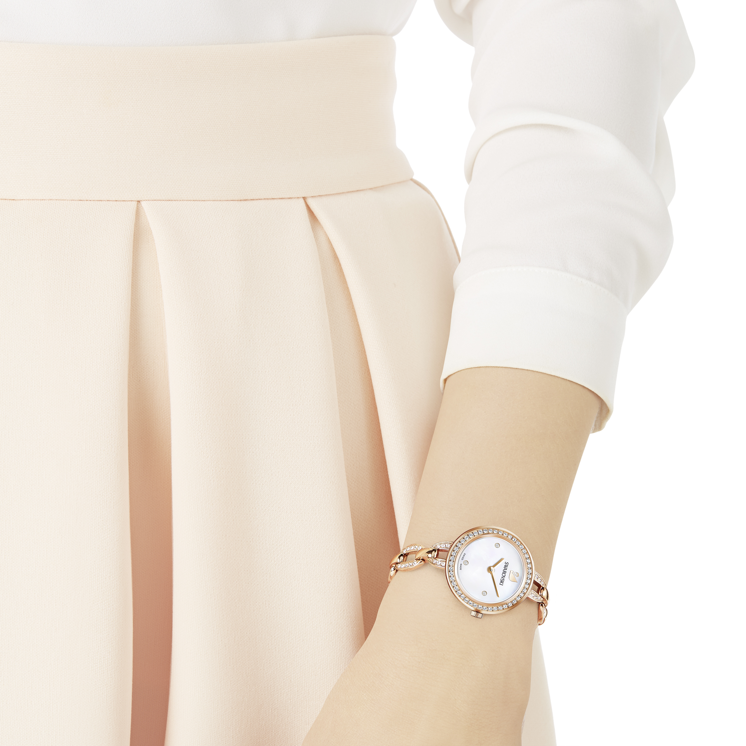 Aila Mini Watch, Rose Gold Tone
