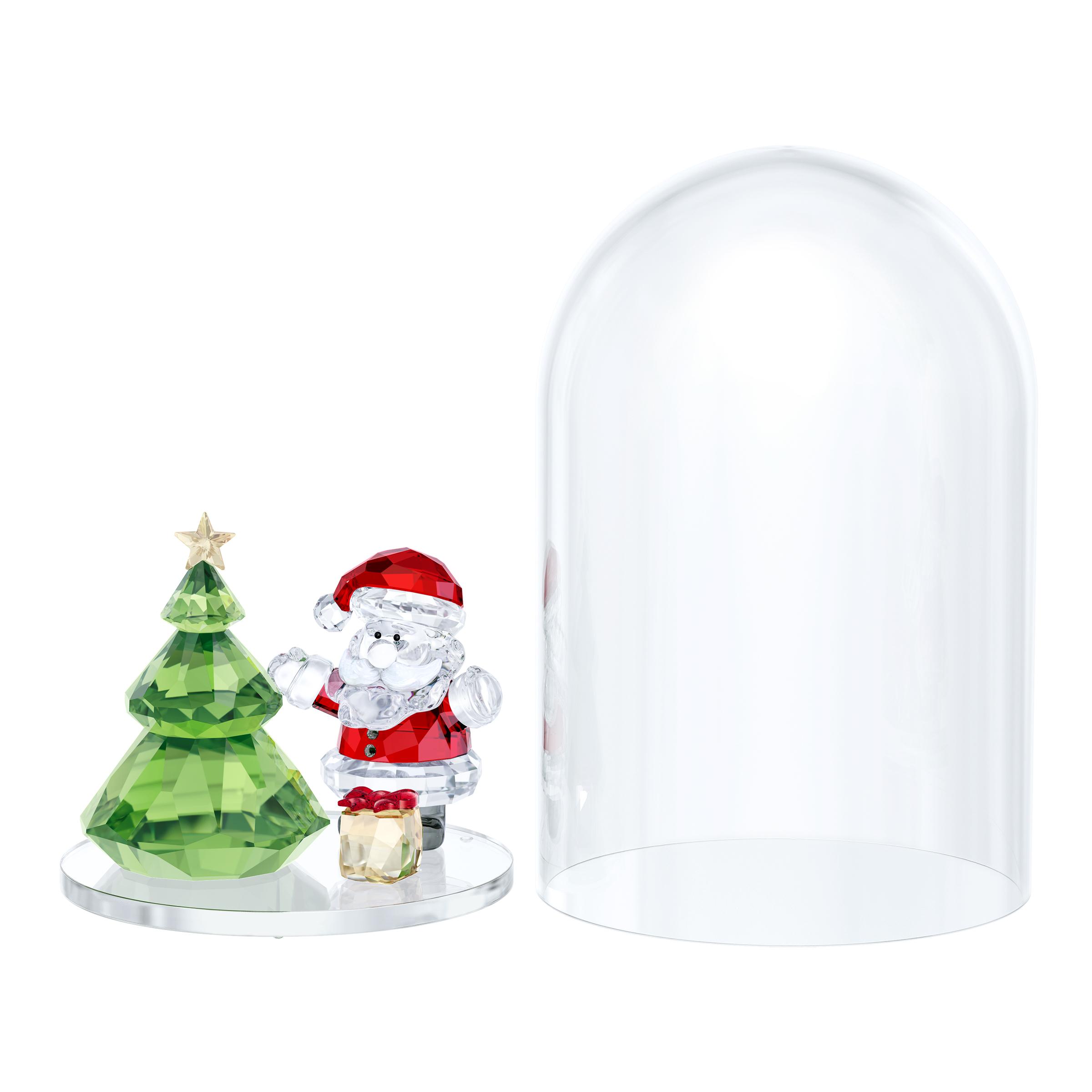 Bell Jar - Christmas Tree & Santa