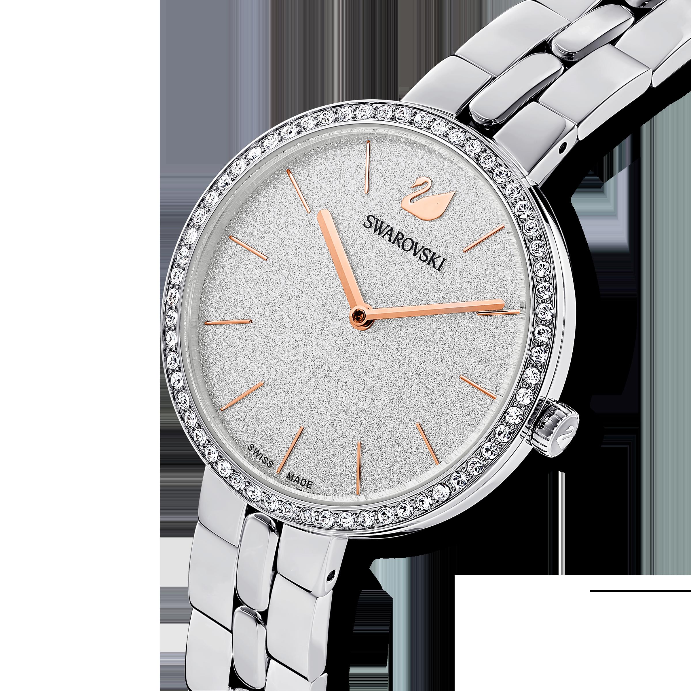 Cosmopolitan Watch, Metal bracelet, Silver tone, Stainless steel