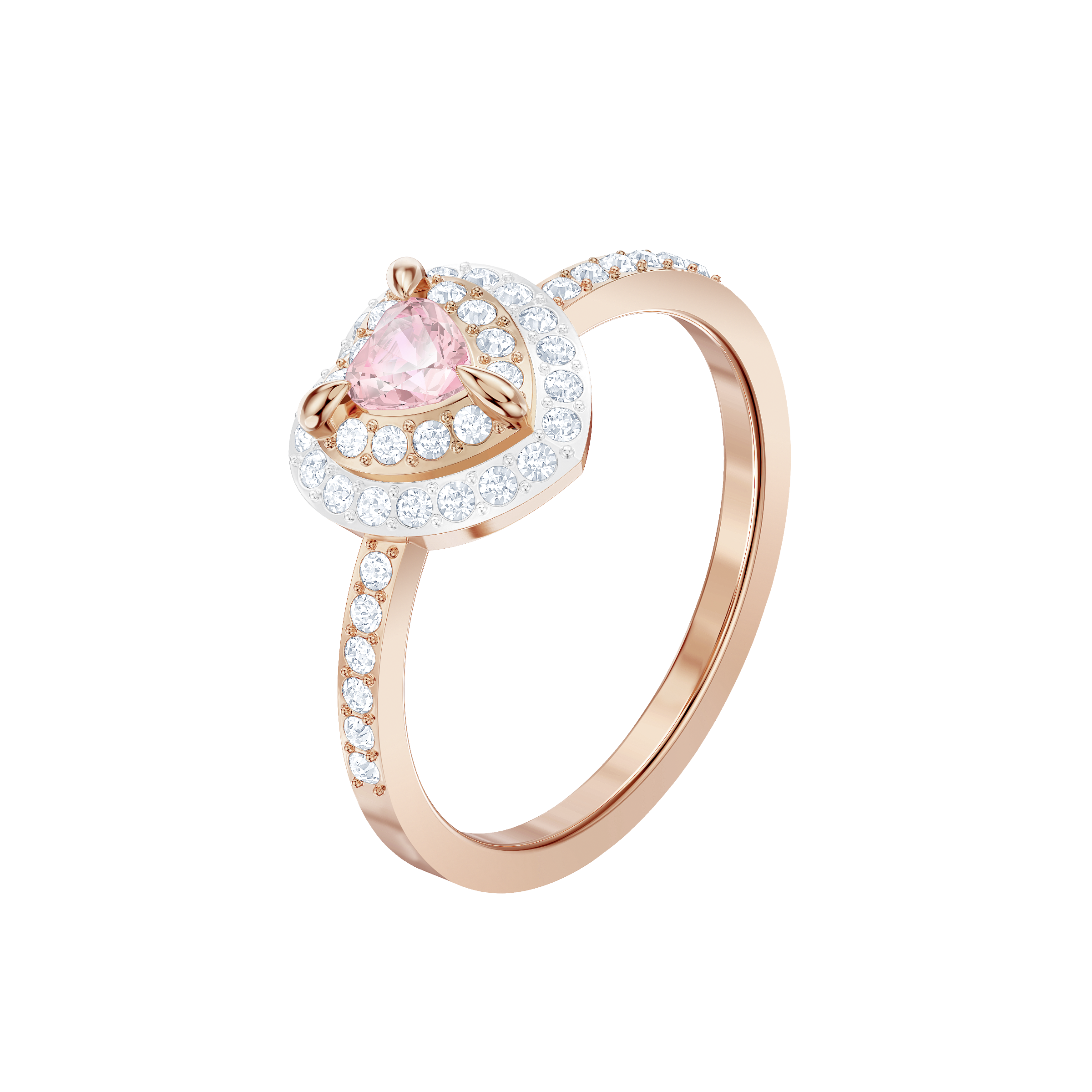 One Ring, Multi-colored, Rose gold plating