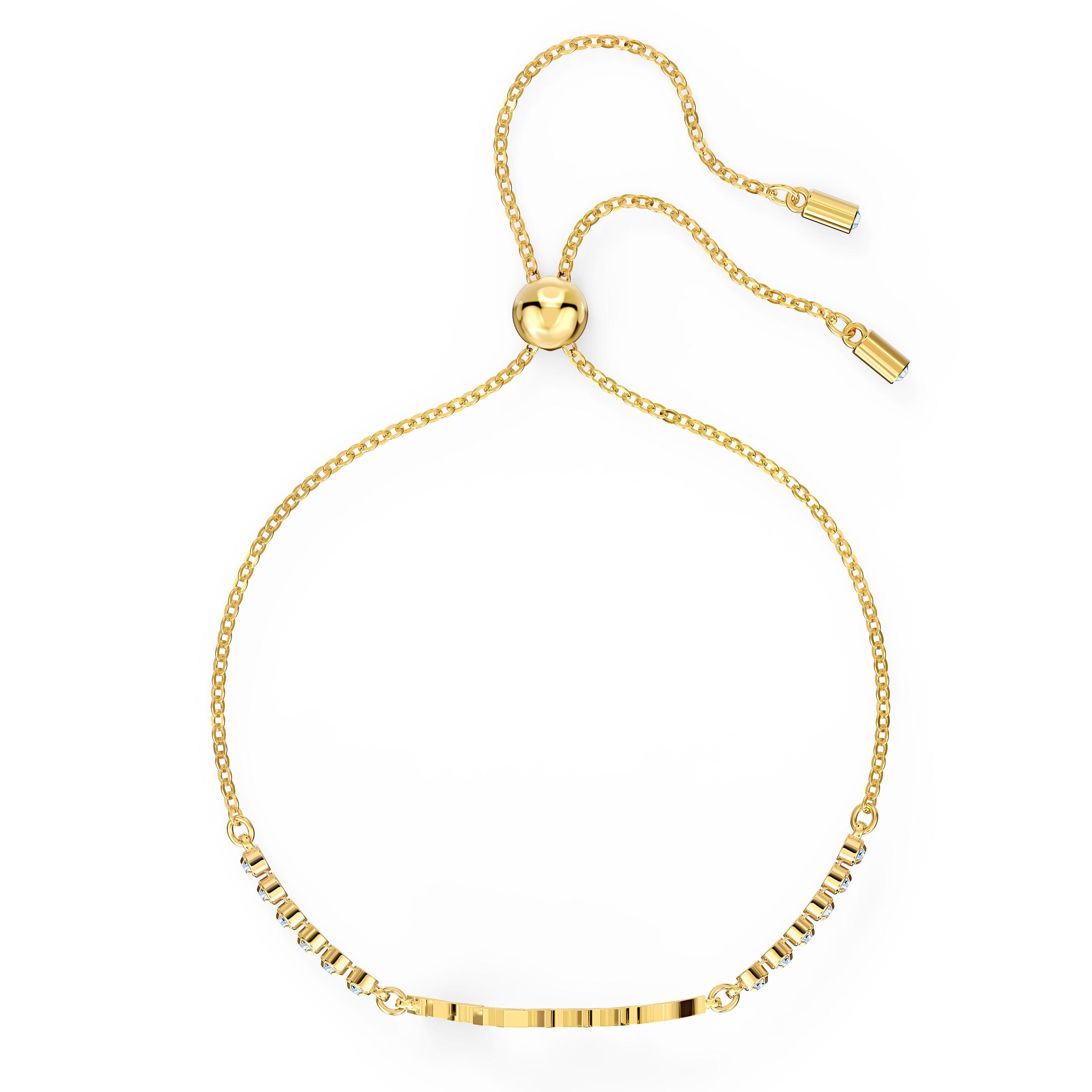 Swarovski Symbolic Love Bracelet, White, Gold-tone plated