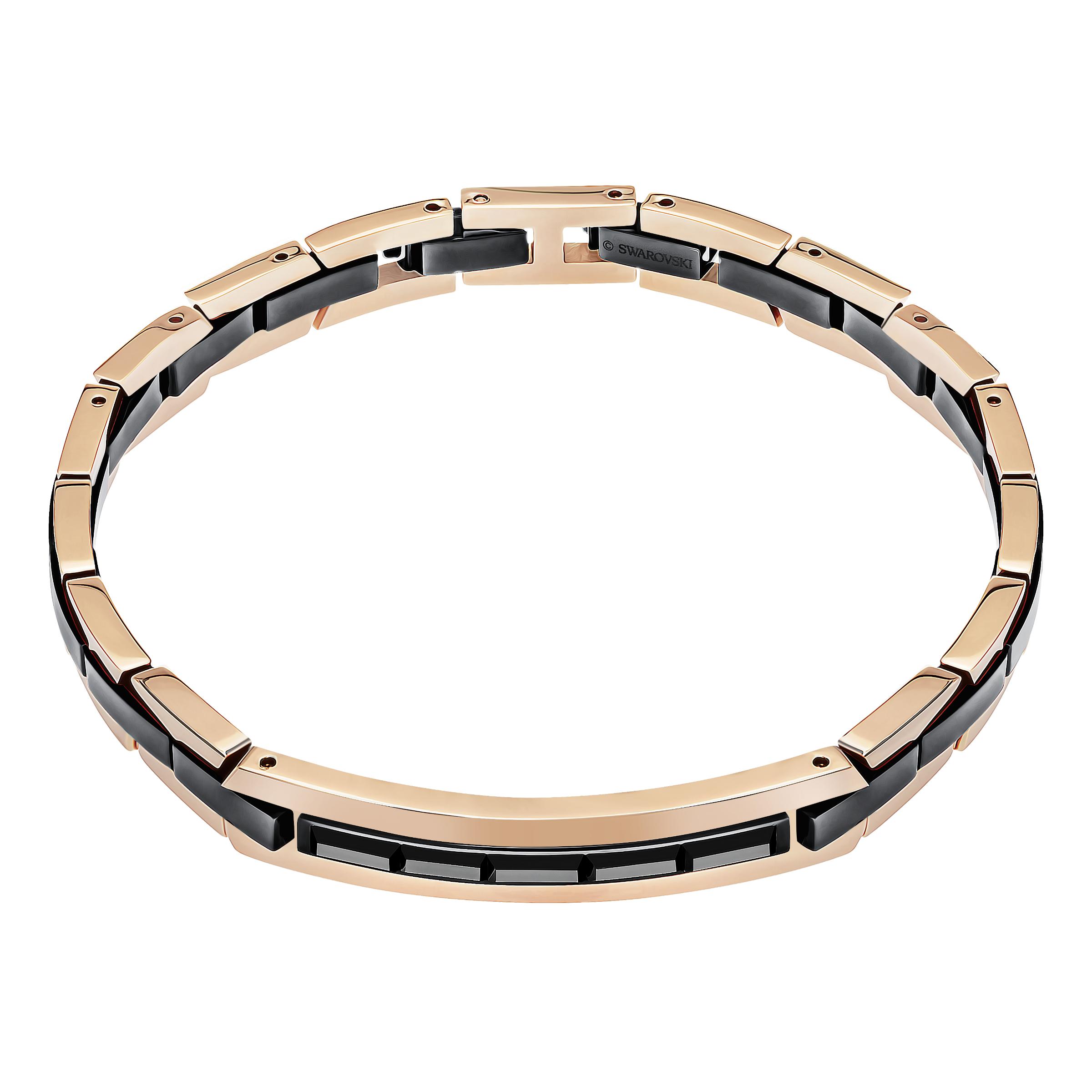 Guard Bracelet, Gray, Mixed metal finish