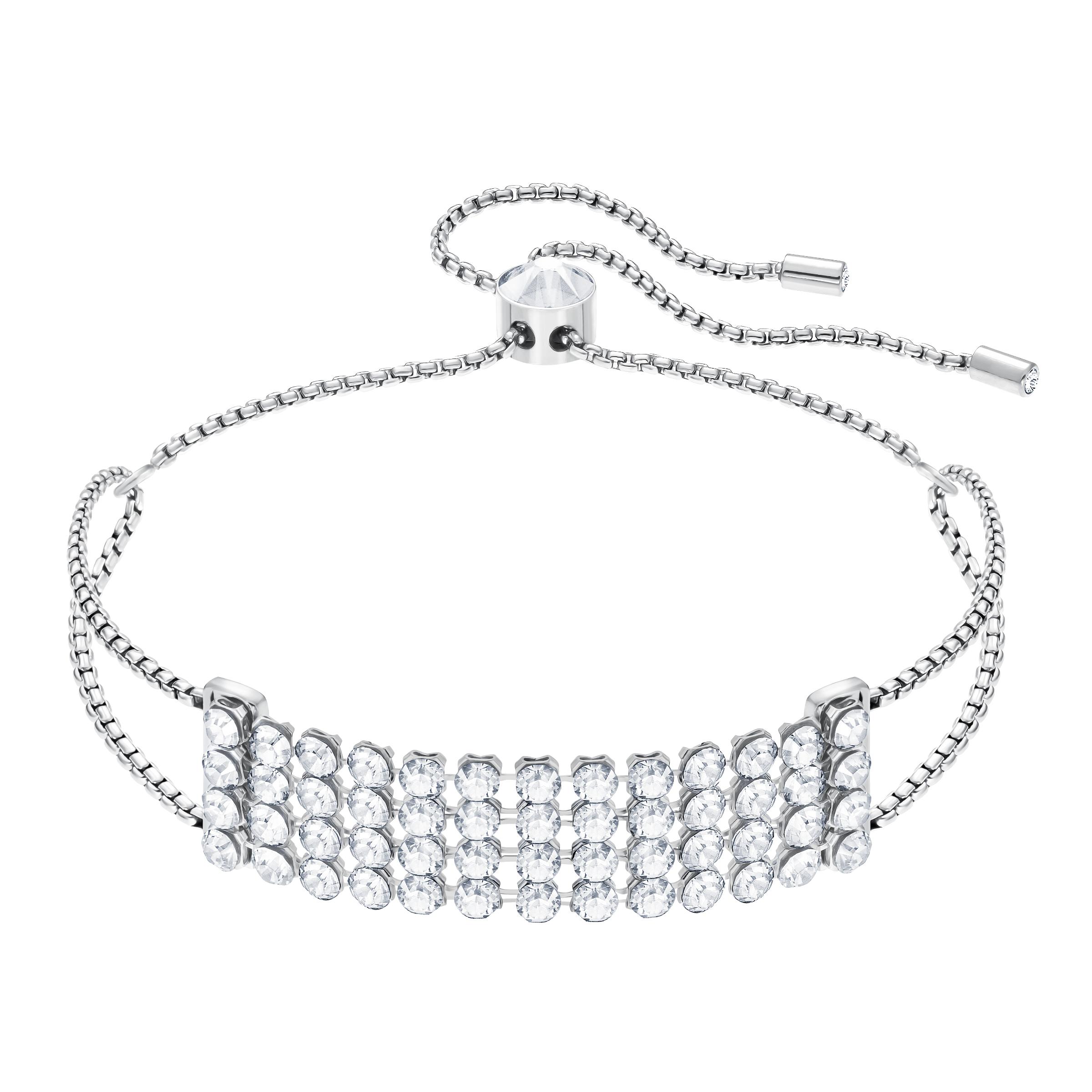Fit Bracelet, White, Stainless Steel